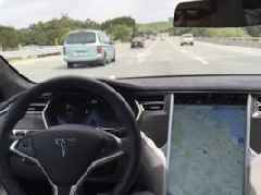 Elon Musk says Tesla will launch its cross-country road trip in a self-driving car in 3 to 6 months (TSLA)