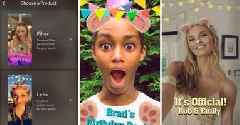 Snapchat now lets users create their own face Lenses