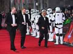 William and Harry were cut out of new Star Wars movie
