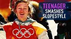 Winter Olympics 2018: US teenager Red Gerard wins men's slopestyle