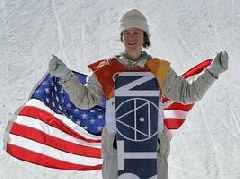 Teenage snowboarder Red Gerard wins first Team USA gold medal