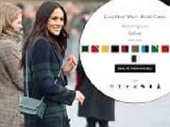 Meghan Markle's £425 Strathberry crossbody bag sells out
