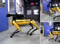 Boston Dynamics' SpotMini is now able to hold open doors