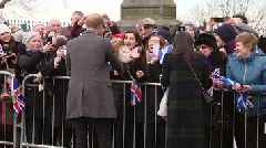 Prince Harry and Meghan Markle make first official visit to Scotland