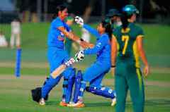 Women cricket: India beat South Africa by 7 wickets in first T-20