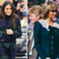 How Meghan Markle is channeling Princess Diana