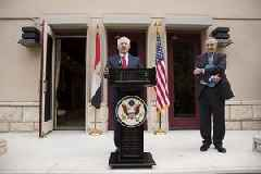 Tillerson Calls on Lebanon To Distance Itself From Hezbollah During Beirut Visit