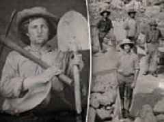 Stunning never before seen photos of California gold rush