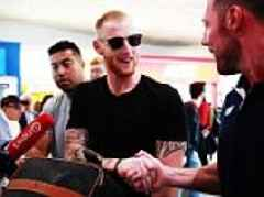 Ben Stokes receives warm welcome in New Zealand