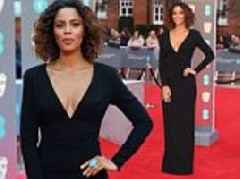 BAFTA: Rochelle Humes leads the stars on the red carpet