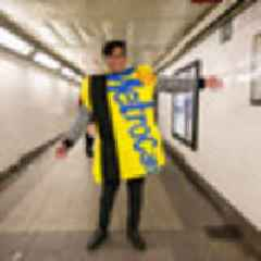 Photos: The Best Halloween Costumes On The NYC Subway, Round 1