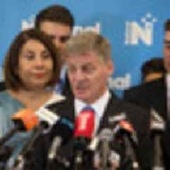 Five in the race: Bill English's final caucus meeting as National Party leader