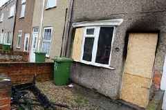 Fire crew saved life of man who had stopped breathing as blaze gutted Grimsby home