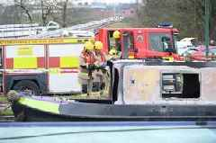 Community in shock as woman and dog die in canal barge blaze