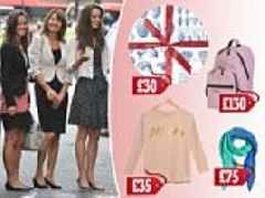 Kate, Pippa and James face expensive shopping
