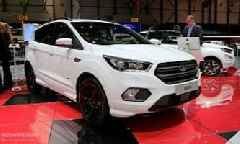 2018 Ford Kuga Shows Off In Geneva In ST-Line Specification