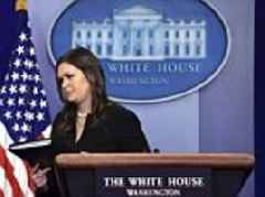 The White House refuses to even MENTION Russia in Salisbury comments