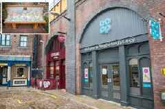First look at the new Coronation Street set: Weatherfield cobbles are now home to tattoo parlour, Urban Garden and even a Costa Coffee