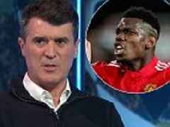 Roy Keane claims Manchester United's Paul Pogba is 'a schoolboy'