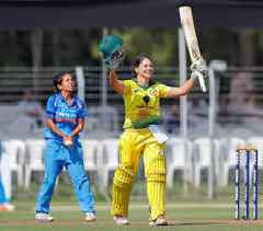 Women's Cricket: Australia set a 288-run target for India in second ODI at Vadodara