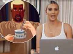 Kim Kardashian blasts Kanye West Get Out memes in new video