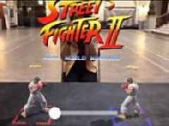 Developer creates Street Fighter game that lets you fight for real