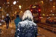 Police warn those heading out tonight as heavy snow set to arrive in early hours of the morning
