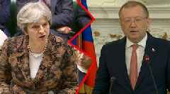 Spy poisoning: War of words between the UK and Russia