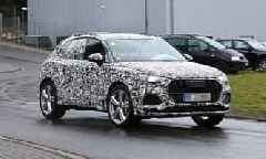 2020 Audi SQ3 Spied for the First Time, Early Prototype Has Quad Pipes