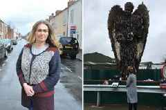 'It's the hardest thing I've ever done': Hull woman visits knife crime sculpture in memory of her brother