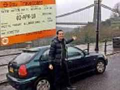 Bargain hunter reveals how he bought a CAR because it was cheaper than taking the TRAIN
