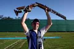 Castle Douglas shooter David McMath describes awesome Commonwealth Games gold medal success