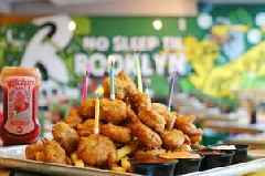 Rub Burgers and Shakes does an epic chicken nugget birthday cake
