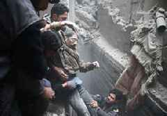 Voices from Syria: 'Looking forward to a Western attack'
