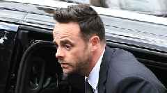Ant McPartlin arrives at court ahead of hearing