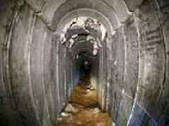 Israel says destroys tunnel from Gaza that crossed barrier