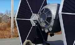 Remote Controlled Star Wars Tie Fighter Can Fit a Full Grown Human Being