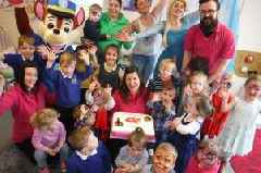 Family affair for nursery which has celebrated twenty years of caring and fun