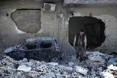 UN Security Team Came Under Fire While Visiting Suspected Chemical Sites in Syria