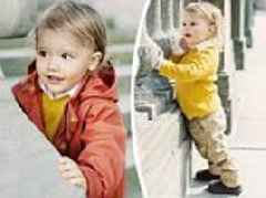 Prince Alexander pictured in adorable new portraits to mark second birthday