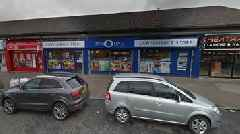 Fire crews tackle blaze at One O One shop in Glasgow