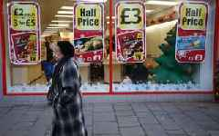 Consumer confidence improved at the end of last year