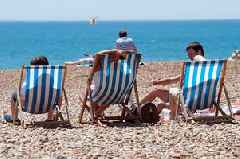 Missing the sun already? Don't worry - there's a ten day heatwave on the way