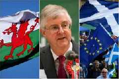 Welsh Government agrees to UK's revised Brexit Bill - but Scotland says no