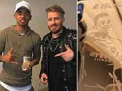 Gabriel Jesus given custom gold iPhone with trademark celebration on to mark Premier League win