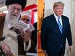 Iran's leader trolls Trump by posting picture of himself reading Fire and Fury