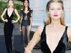 Toni Garrn and Cindy Bruna attend swanky bash at Cannes Film Festival