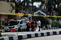 4 men who attacked police station with samurai swords in Indonesia have been shot dead: Indonesian authorities