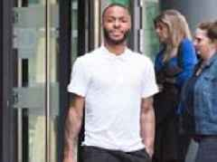 Manchester City ace Raheem Sterling appears in court with his ex-girlfriend
