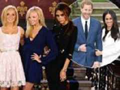 Only THREE Spice Girls are invited to the royal wedding
